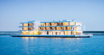 ADMARES deliveres World's largest floating villa