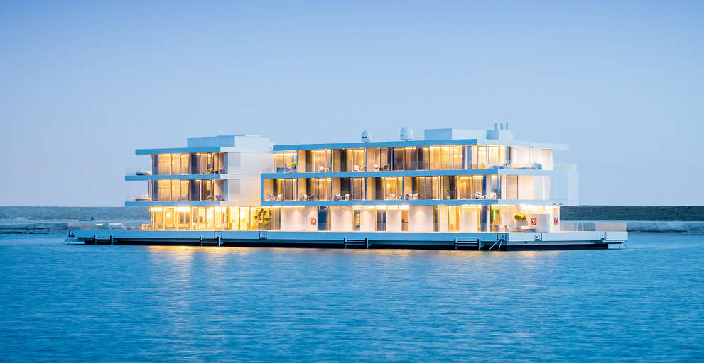ADMARES delivers full life cycle services to world's largest floating villa