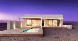 ADMARES delivered offsite manufactured luxury villa for NEOM project