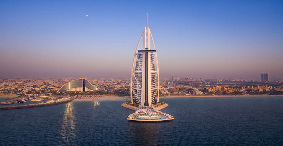 ADMARES FINISHED BURJ AL ARAB TERRACE IN RECORD TIME