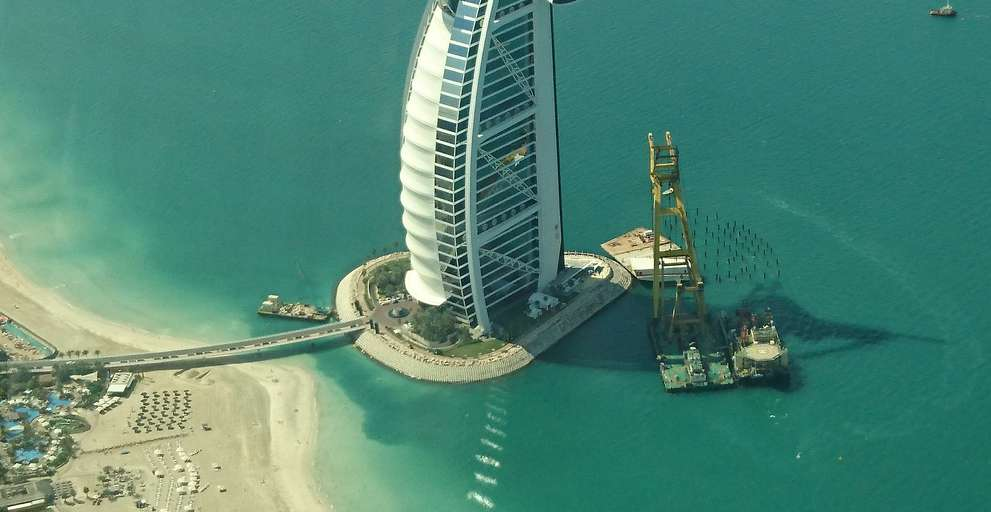 Burj Al Arab Island Development has arrived
