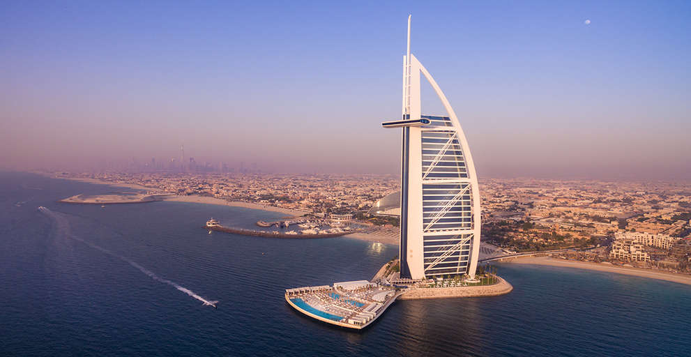 Burj Al Arab Terrace Opening Ceremony by Jumeirah