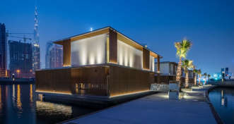 Groundbreaking luxury water homes by ADMARES float in on time for Cityscape Global 2017